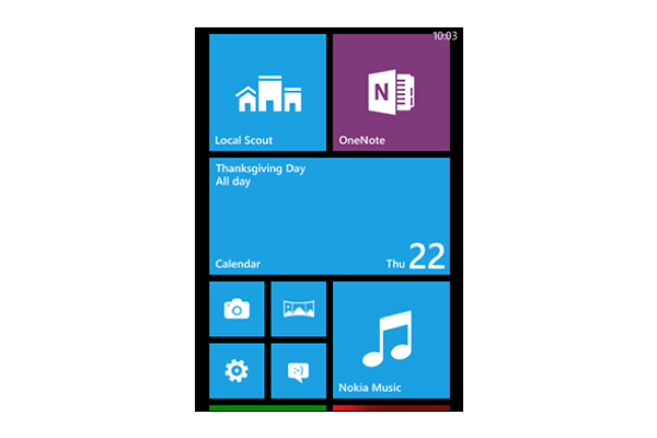 Style: Windows Phone 8