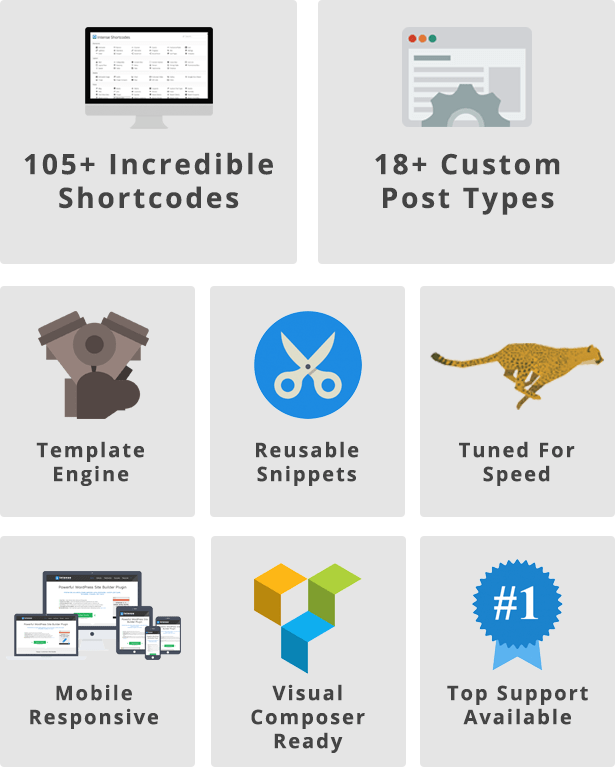 Intense - Shortcodes and Site Builder for WordPress 6
