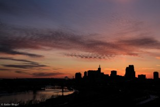 Sunset over Saint Paul, MN © Andor (8)