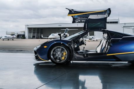 Pagani Huayra auction27