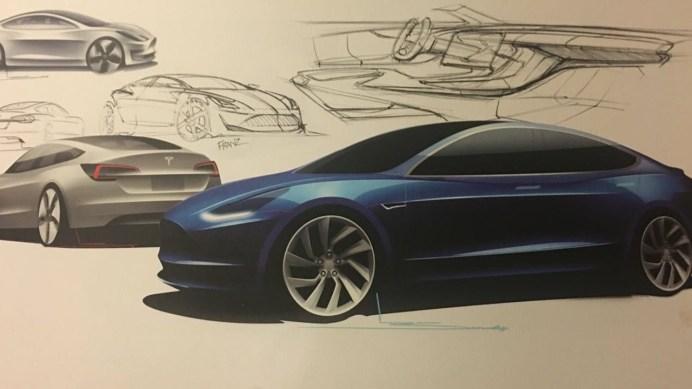 2018-tesla-model-3-design-sketch