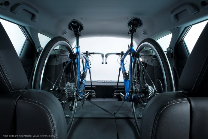 Honda launches In-Car Bicycle Rack for Civic Tourer