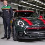 ミニがオックスフフォード工場にて300万台めの車両をラインオフ
