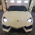 これはやり過ぎ?ランボルギーニ・アヴェンタドールのレプリカが600万円で販売中