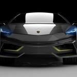 ランボルギーニがEVを発売したら?というレンダリング。テスラ・モデルXへの対抗?