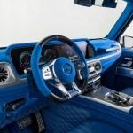 新型メルセデス・ベンツGクラスの内装カスタム一番乗り。ブラバスが「真っ青」なインテリア公開