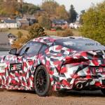 新型トヨタ・スープラのレーシングバージョン?GT3もしくはGT4クラス向けっぽい車両がニュルへと出撃