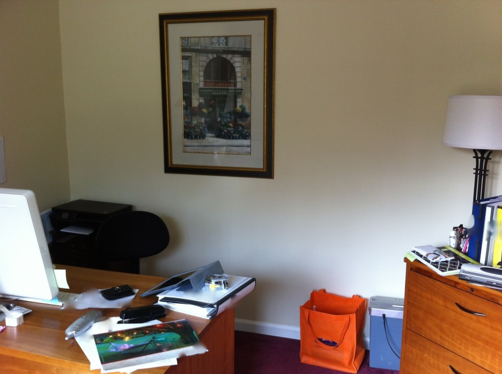 Before After Home Office Makeover