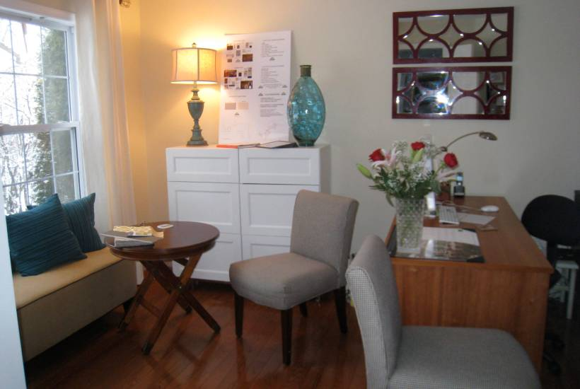 After: Ample Storage & Seating