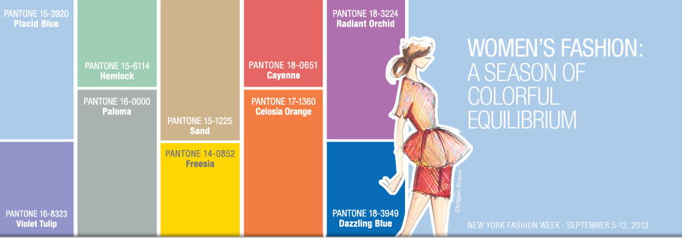Pantone: Spring 2014 Fashion Color Report