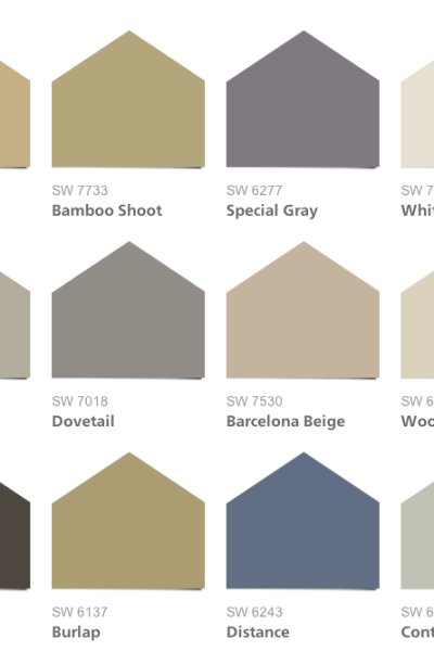 Sherwin-Williams Liveable Luxe Color Palette