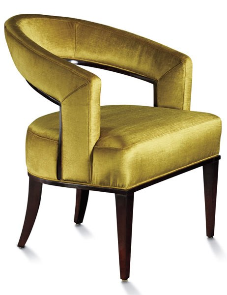 FEBRUARY'S MOST-WANTED HOME FURNISHINGS AND ACCESSORIES. Councill's Palladian chair in lush citrine velvet. AD editors select their must-have items, from simple pleasures to ultimate luxuries. Architectural Digest. Text by Stephanie Schomer   Produced by Parker Bowie Larson   Photography by Geoffrey Sokol.