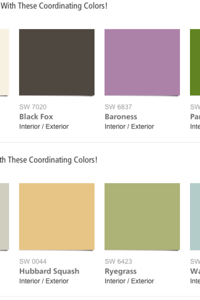 Sherwin-Williams 2015 Color of the Year
