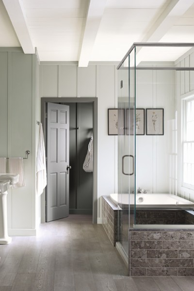 Spa-like bathroom, Choosing Paint Colors for your home.
