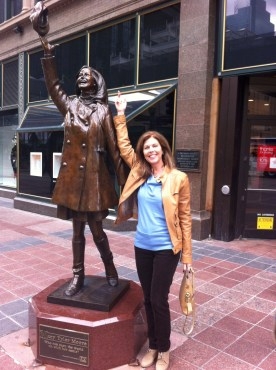 Me and Mary Tyler Moore in MN