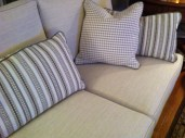 Details, Sofa + Pillows