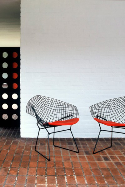 A Good Buy ... Outdoor Furniture. From Knoll Bertoia Diamond Chairs