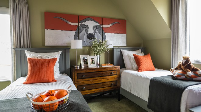 HGTV Smart Home 2015 Paint Colors. Kids Room. Paint SW 7733 Bamboo Shoot.