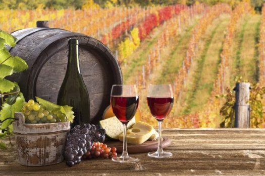 Fall Home 2016, Wine Colors, Winery on a Fall day