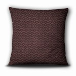 Pillow from https://IntentionalDesigns.com/Shop, Pattern: Mocha Color: Mulberry