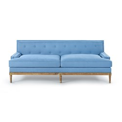 Interior Trends Patone Colors 2016, From Bungalow5.com The Davis Sofa in Blue