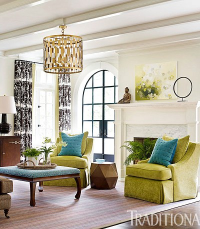 Green Paint Colors & Home Decor Ideas