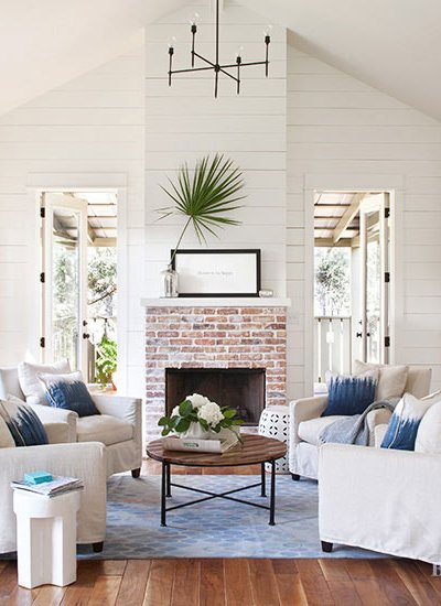 7 All-White Room Designs