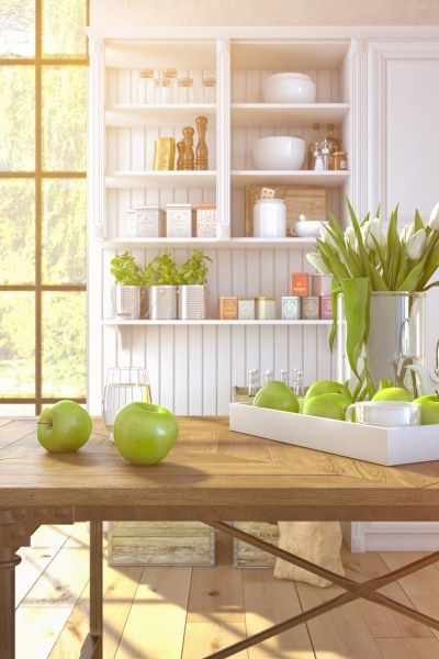 Declutter your kitchen in 3 Steps