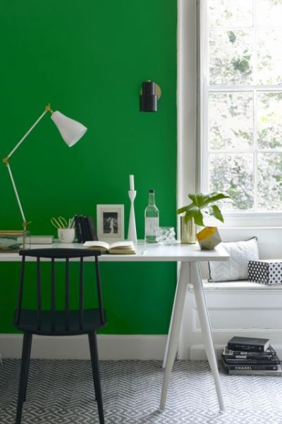 green painting, green home decor