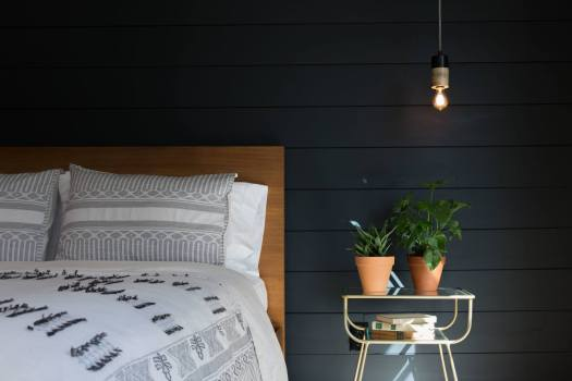 shiplap accent wall, wall treatments