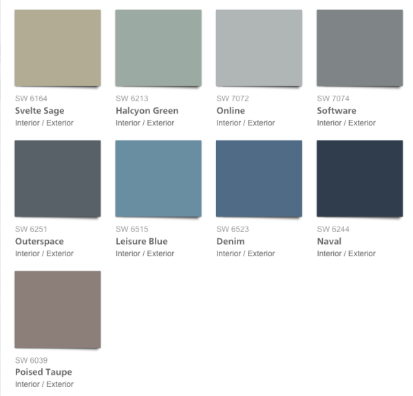 28 Pottery Barn Paint Colors Blue