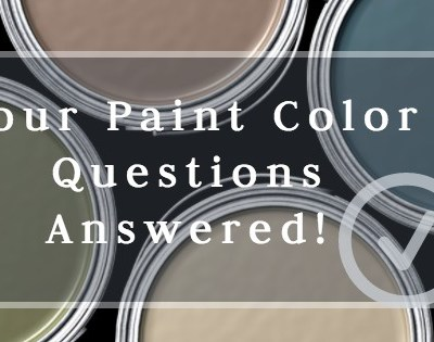 IntentionalDesigns.com answers your home interior paint color questions!