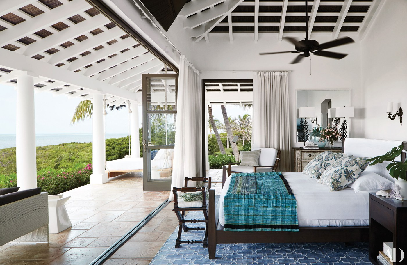 Faith Hill, Bedroom, Summer Decorating, celebrity bedrooms