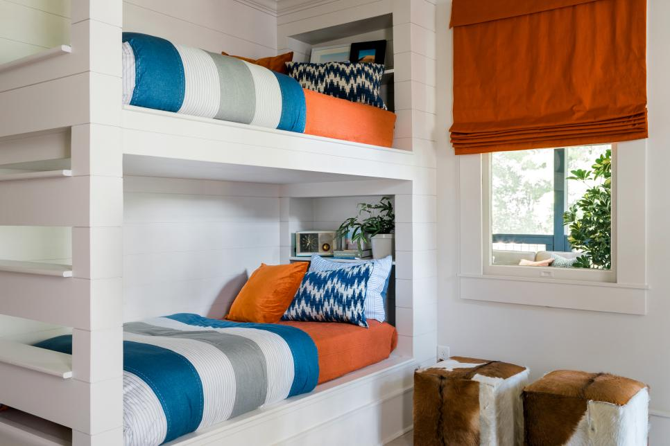HGTV Urban Oasis Bunk Bed Room Paint Colors