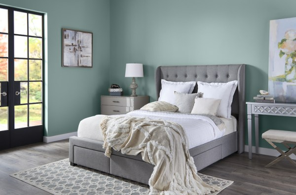 Behr Color of the Year 2018, In the Moment, Bedroom