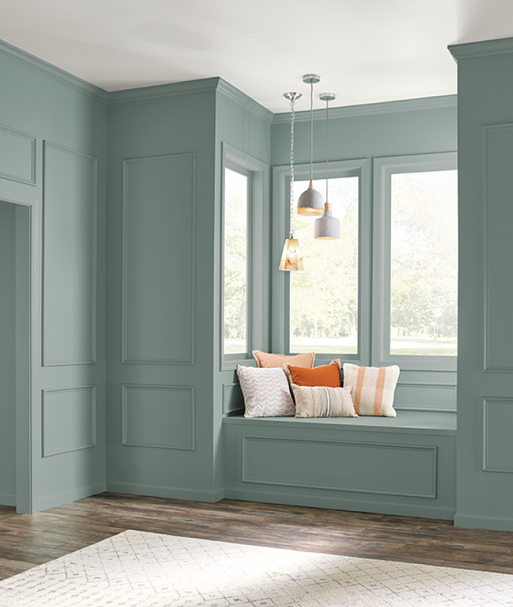 Behr 2018 Color of the Year, In the Moment, Window Seat