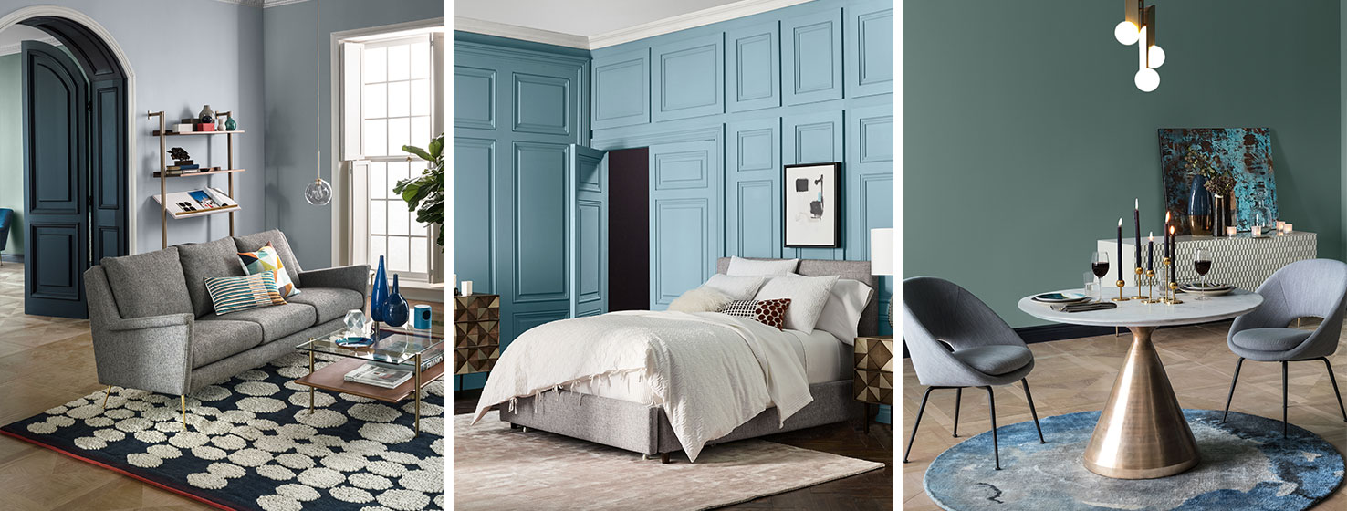 West Elm Paint Collection Sherwin-Williams Fall/Winter 2017