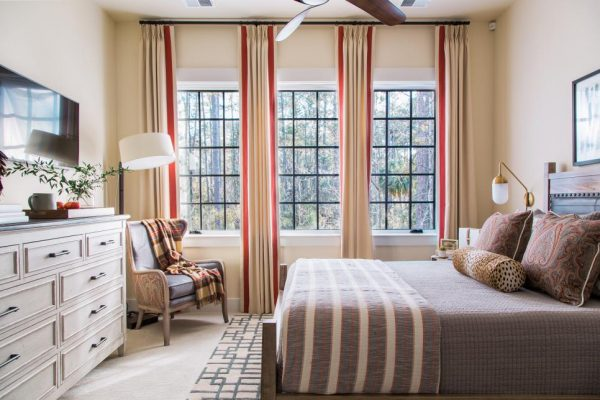 red accents, Smart Home 2018 Paint Colors