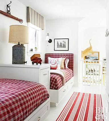 farmhouse kids bedroom