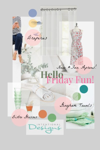 June 1, Friday's Fun Decorating Links