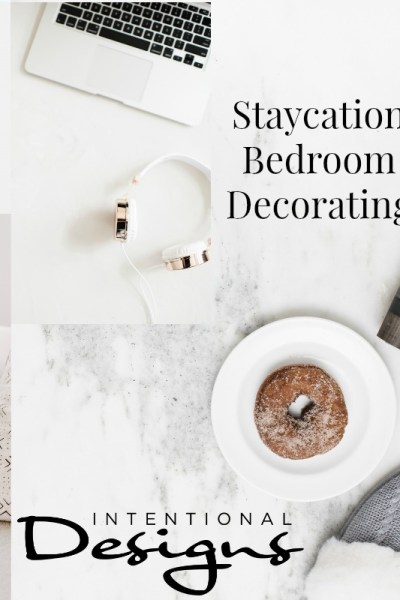 staycation bedroom