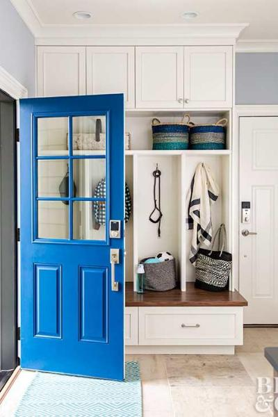 July 13, Decorating Links, mudroom