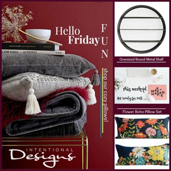 intentionaldesigns.com Fall home decor products