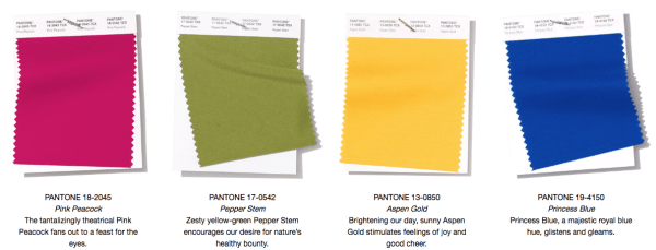 2019 Color Palette Pantone, Pantone Spring Summer 2019, yellow home decor