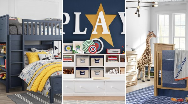 Kids Bedrooms, PB Kids 2019 Paint Colors, Sherwin-Williams Pottery Barn Kids Spring/Summer 2019