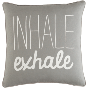 Vinyasa Pillow, Gray