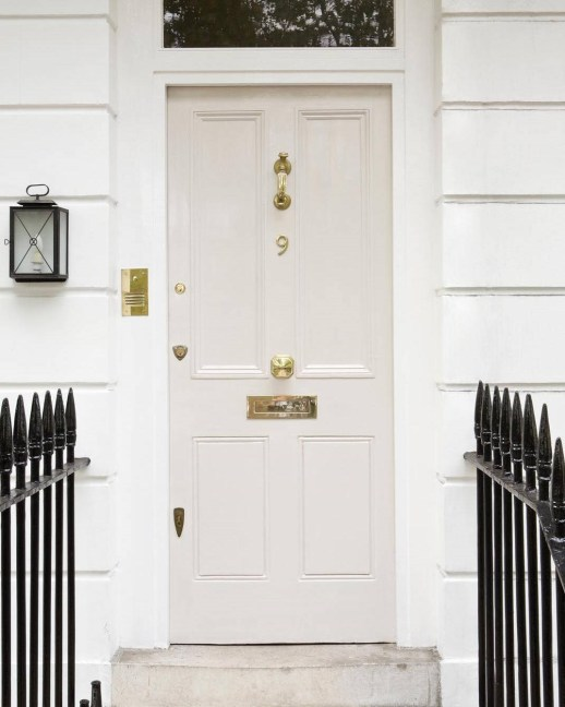Front Door Paint Colors, farrow-ball paint, skimming stone paint color, white paint colors