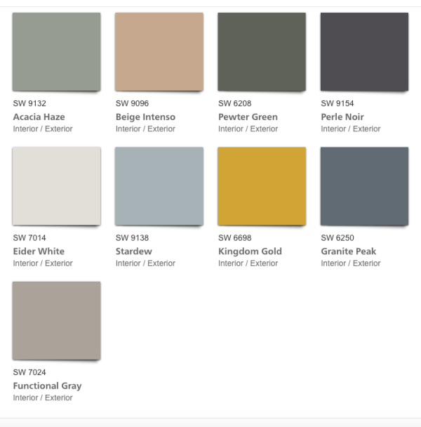 haven 2020 paint color forecast