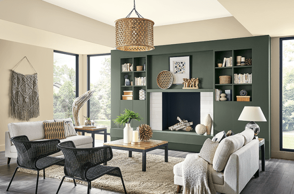 Sherwin-Williams, Living Room