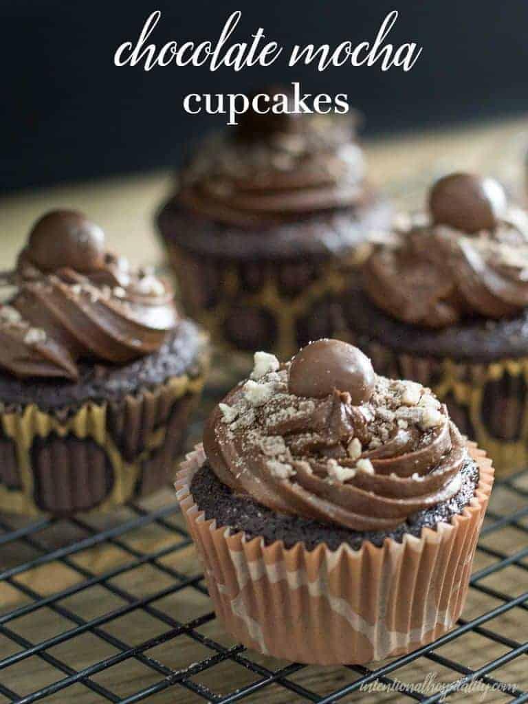 Best Moist Chocolate Mocha Cupcake Recipe Intentional
